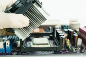 remove heat-sink from mainboard with hand