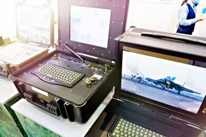 Protected military industrial computers and laptops