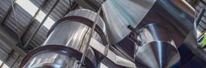 Stainless steel abstract, piping, tanks and ducting for plate heat exchanger.